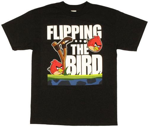 Angry Birds Flip T Shirt
