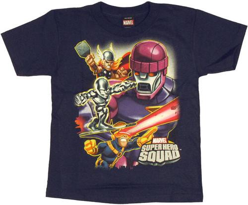Marvel Hero Squad Sentinel Juvenile T Shirt