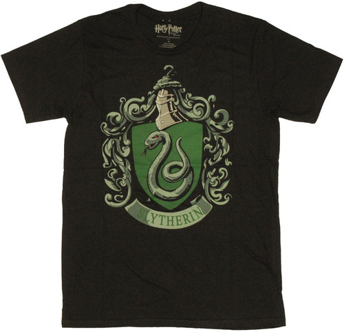 Harry Potter Slytherin T Shirt Sheer