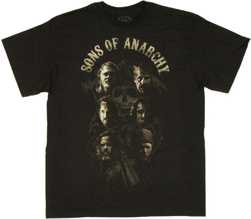 Sons of Anarchy Cast T Shirt