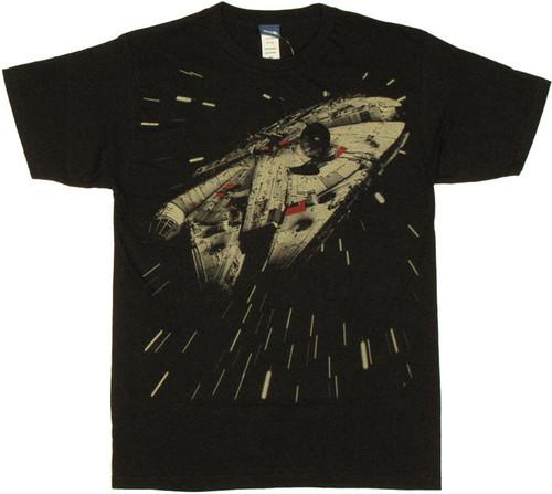 9f64c52c Millennium Falcon T Shirt