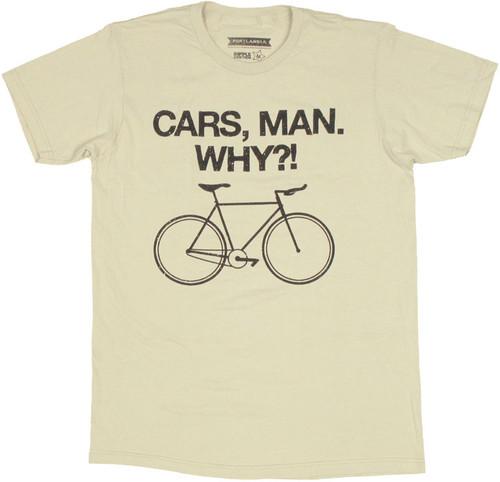 Portlandia Cars Man T Shirt Sheer
