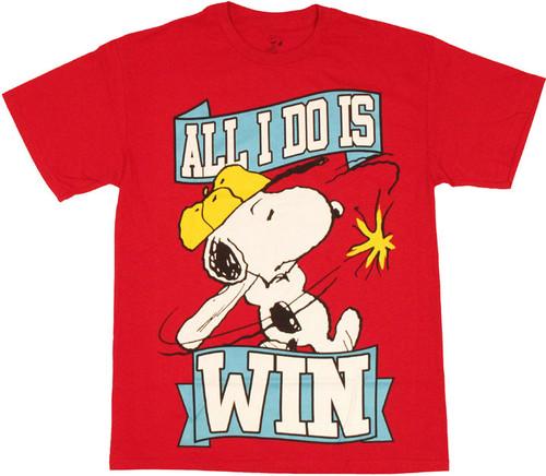 b33b255f2 Peanuts Snoopy Win T Shirt t-shirt-peanuts-snoopy-win