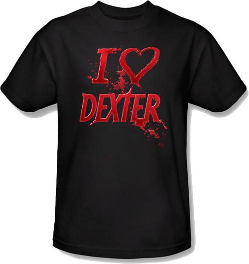 Dexter Heart T Shirt