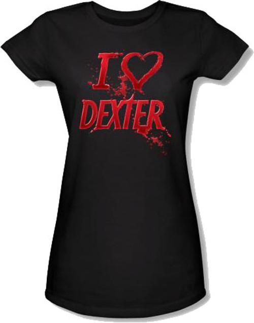 Dexter Heart Baby Tee