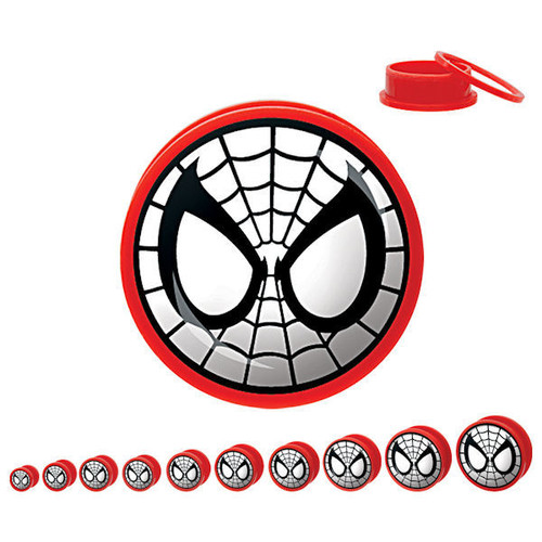 Spiderman Acrylic Plugs