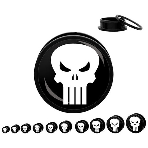 Punisher Acrylic Plugs