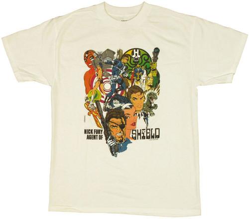 SHIELD Nick Fury T Shirt