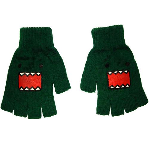 Domo Kun Green Gloves