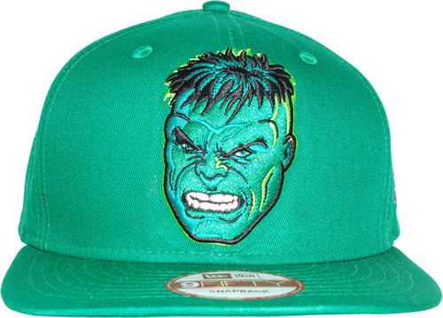 0e4a398ddeb3d Incredible Hulk Head Hat