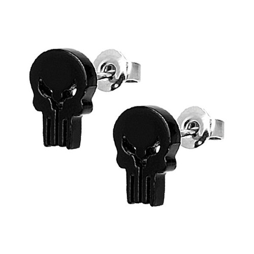 Punisher Stud Earrings