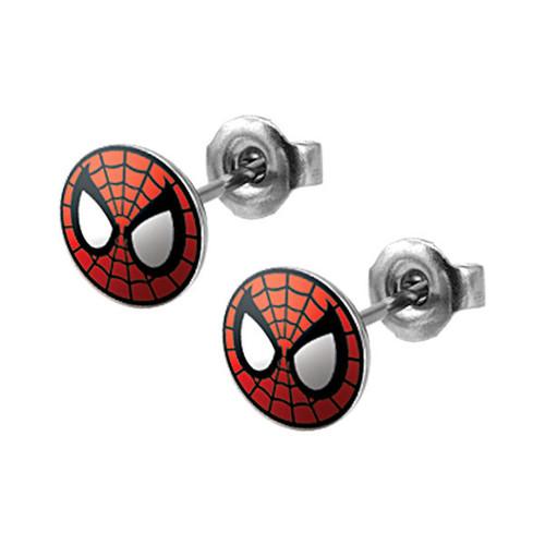 Spiderman Stud Earrings