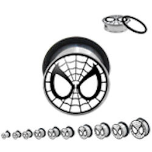 Spiderman Steel Plugs