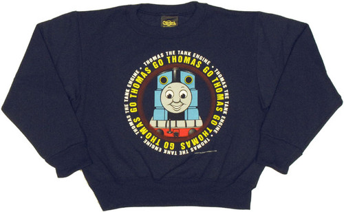Thomas the Tank Go Thomas Juvenile Sweatshirt