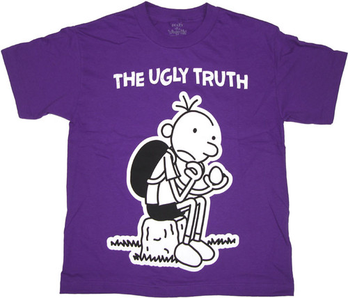 Diary of a Wimpy Kid Truth Purple Youth T Shirt