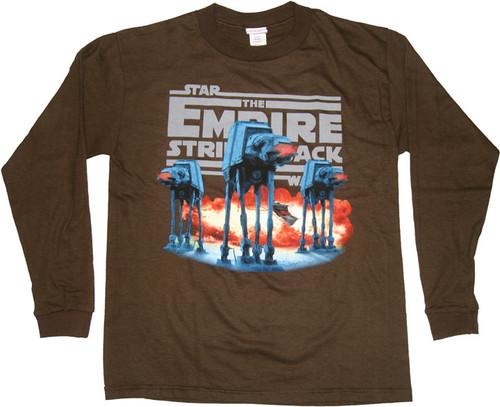 Star Wars AT-AT Walker Long Sleeve Youth T Shirt