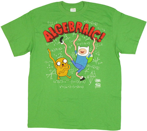 Adventure Time Algebraic T Shirt