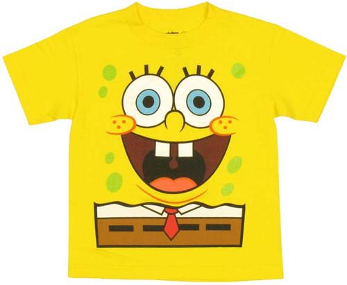 Spongebob Squarepants Costume Juvenile T Shirt