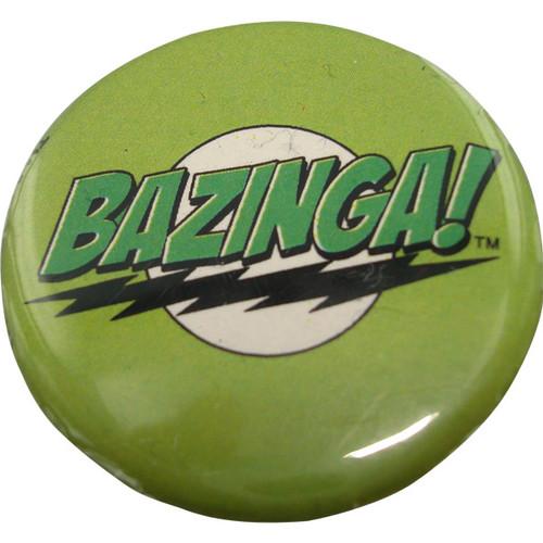 Big Bang Theory Bazinga Green Button