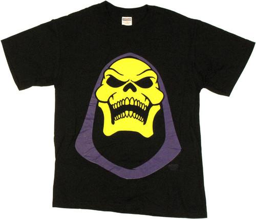 He Man Skeletor Head T Shirt