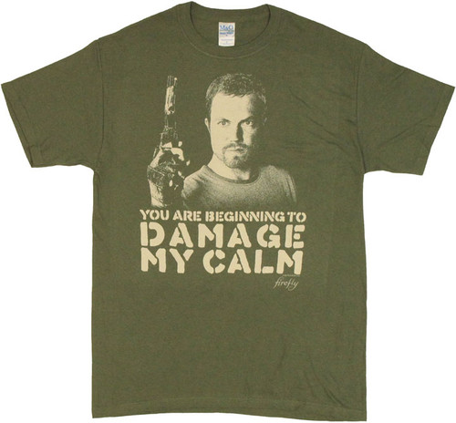 Firefly Damage T Shirt