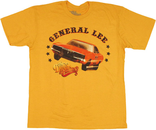 Dukes of Hazzard Two Wheel T Shirt Sheer