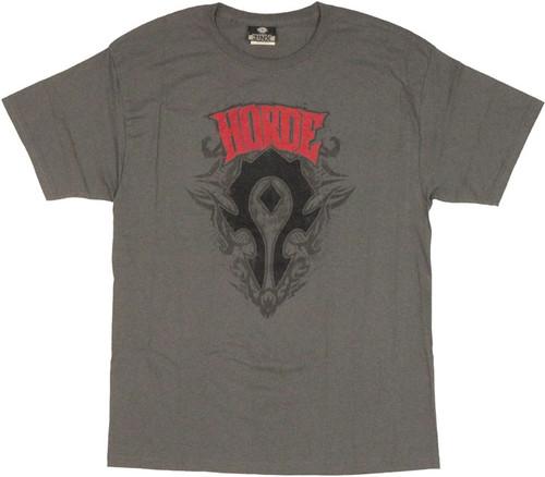 World of Warcraft Horde Crest T Shirt