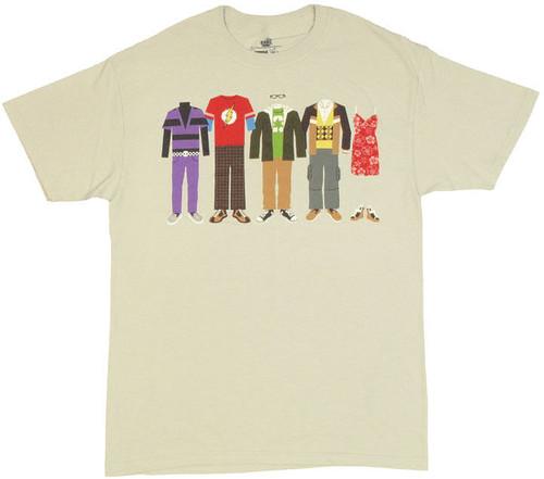 Big Bang Theory Clothing T Shirt