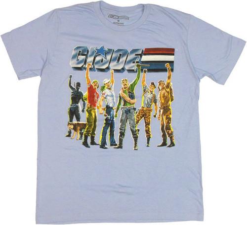 GI Joe Fists T Shirt Sheer