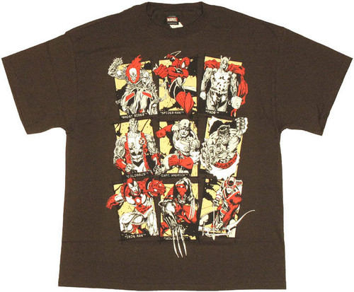 Marvel Cards T Shirt