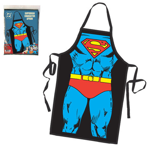 Superman Costume Apron