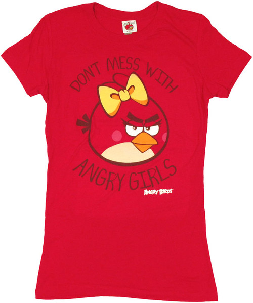Angry Birds Girls Baby Tee