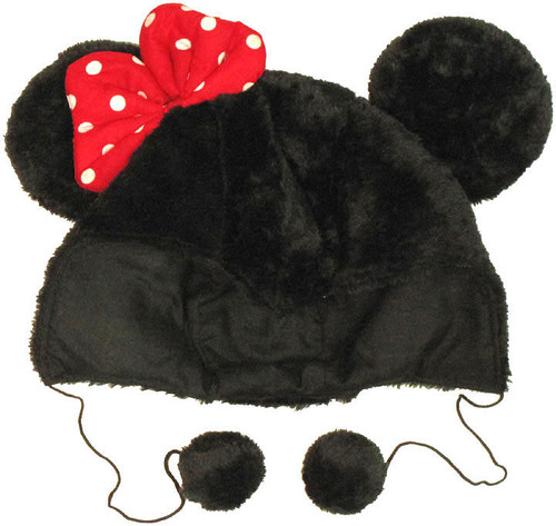 Minnie Mouse Hood Lapland Beanie