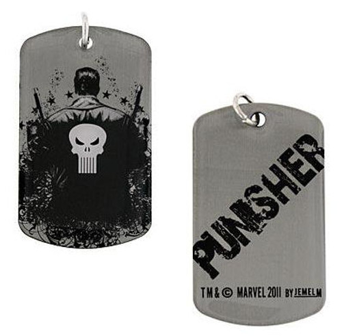 Punisher Back Dog Tag