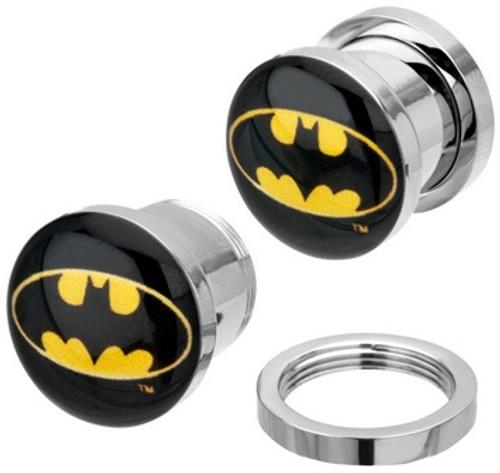 Batman Steel Plugs