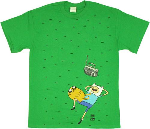 Adventure Time Grass T Shirt