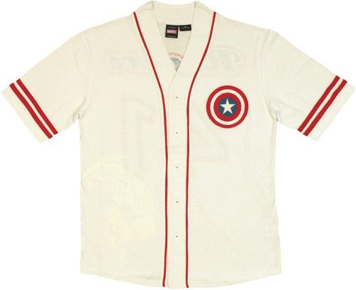 Captain America Baseball Jersey