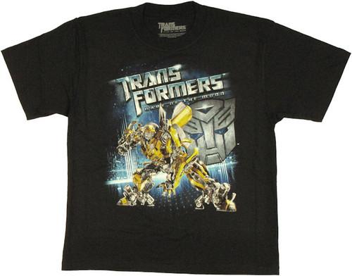 Transformers Dark Moon Bumblebee Youth T Shirt
