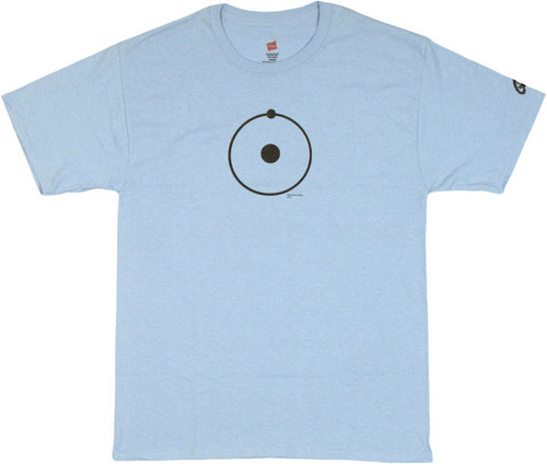 Watchmen Dr Manhattan Symbol T Shirt
