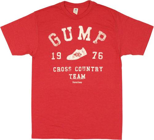 Forrest Gump Cross Country T Shirt Sheer