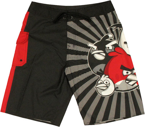 Angry Birds Poster Shorts