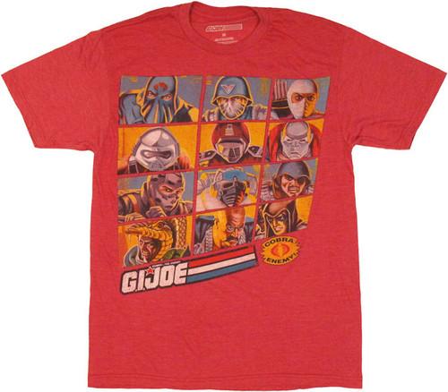 GI Joe Cobra Grid T Shirt Sheer