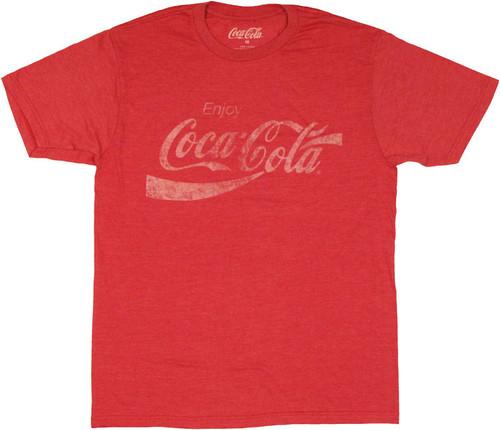 Coca-Cola Enjoy T Shirt Sheer
