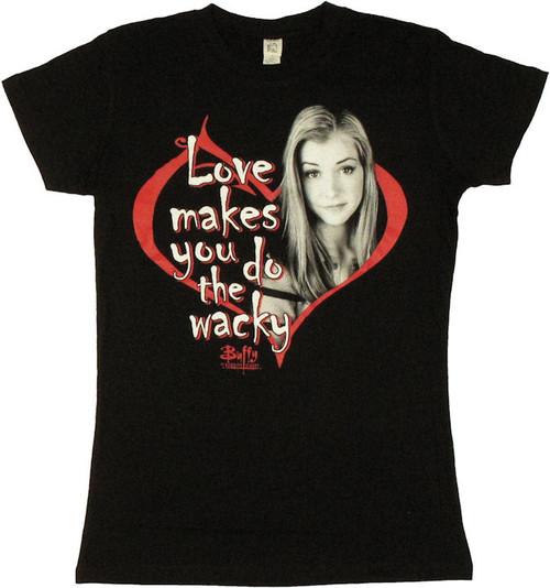 Buffy the Vampire Slayer Love Wacky Baby Tee