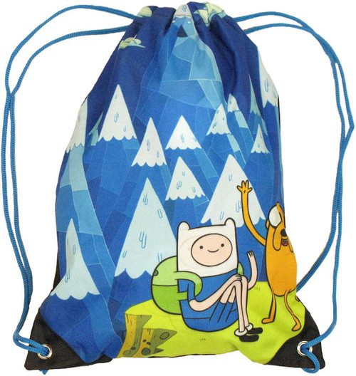 Adventure Time Drawstring Backpack