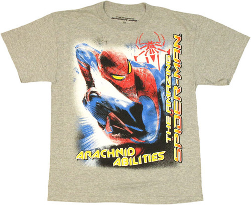 Amazing Spiderman Arachnid Abilities Youth T Shirt
