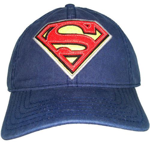 Superman Logo Buckle Hat