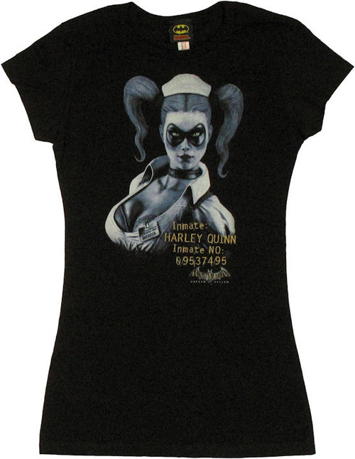 Harley Quinn Inmate Baby Tee