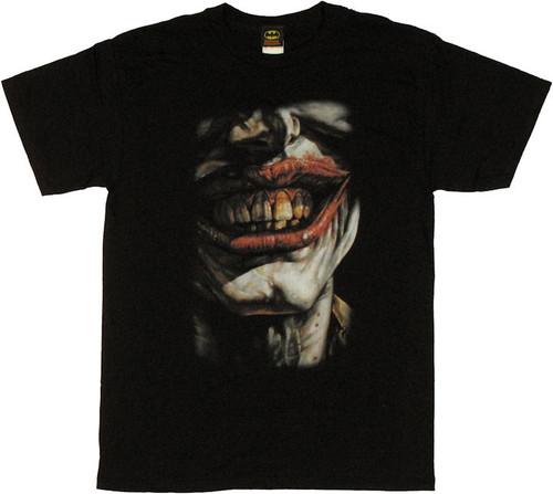 Joker Evil Smile T Shirt