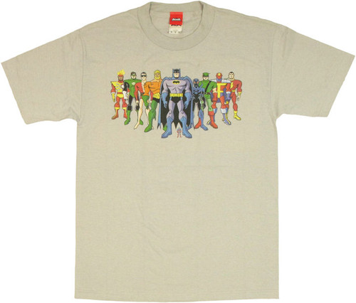 Batman Brave /& the Bold THE ATOM SHIELD Licensed Adult T-Shirt All Sizes